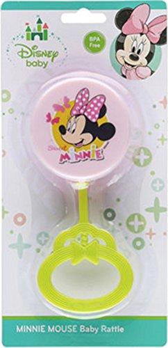 Disney Minnie Mouse BPA-Free Baby Lollipop Rattle (Minnie Mouse Lollipops)