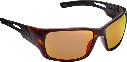 (Fisherman Eyewear Hazard Sunglasses, Shiny Tortoise Frame)