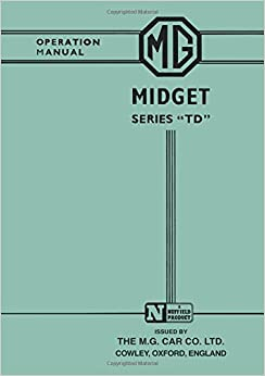 Hndbk mg midget owner td