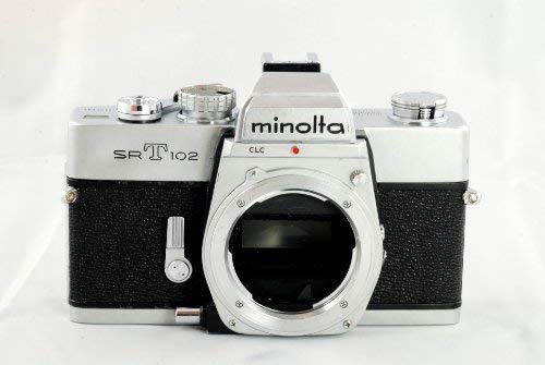 Minolta SRT 102 manual focus film SLR camera body only