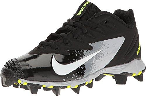 Nike Boy's Vapor Ultrafly Keystone Baseball Cleat Black/White/Wolf Grey/Cool Grey Size 12 Kids US (Nike Vapor Baseball Cleats Boys)