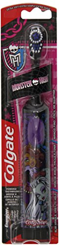 Colgate Battery Powered Kids Toothbrush, Monster High