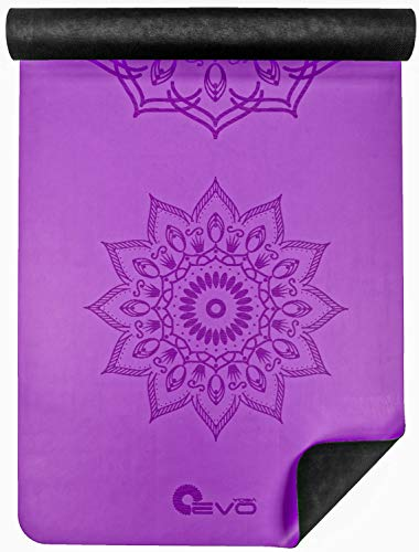 Yoga Mandala Rubber Leather Colors product image