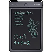 IGERESS 9-inch LCD Writing Tablet Electronic Writing Board Digital Drawing Board Graphic Drawing Tablet Durable