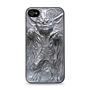 Yoda Frozen In Carbonite Black Silicone Case for ipad ipod touch 5