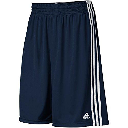 adidas Adult Climalite Practice Shorts (Navy, Large)