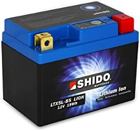 SHIDO LTX5L-BS LION -S- Batería de ion de litio, 12V 20WH, color azul