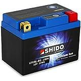 SHIDO LTX5L-BS LION -S- Batterie Moto Lithium Ion