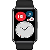 HUAWEI WATCH FIT Smartwatch with 1.64 inch Vivid AMOLED Display, 10 Days Battery Life, 96 Workout Modes, Built-in GPS…