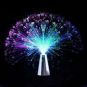 Fiber Optic Lamp Budget Centerpiece