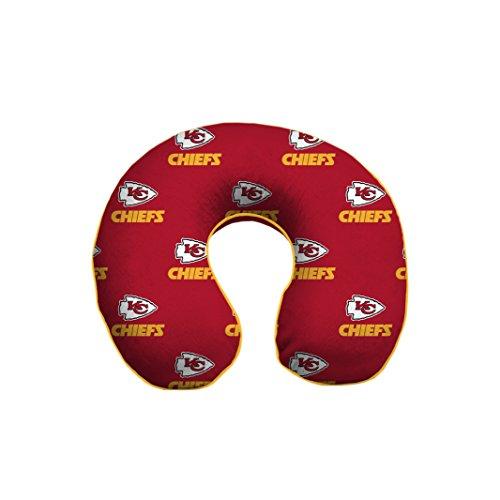 Pegasus Sports NFL Kansas City Chiefs U-Neck Memory Foam Travel Pillow