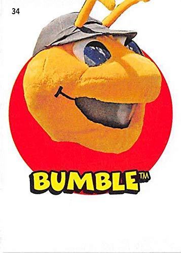 Bumble Salt Lake Bees Mascot baseball card 2016 Topps Heritage Minors #34 Insert Edition ()