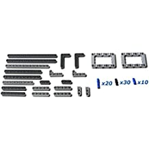82 Piece LEGO TECHNIC Supplemental Parts Pack: genuine LEGO beams, liftarms, and pins. Mindstorms, EV3, NXT