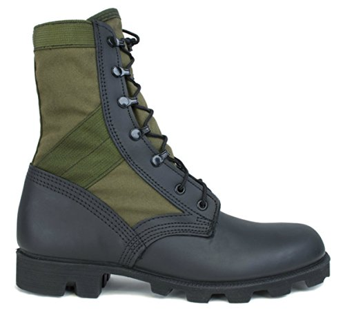 Mcrae Hw Jungle Boot In Od E Nero Con Panama Suola (10r)