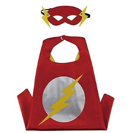 Amazon.com: Superhéroe Capa y máscara Set para niños disfraz ...