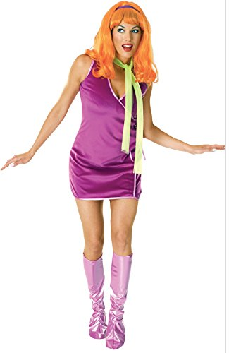 Fred And Halloween Velma Costumes (DAPHNE, Std Size)