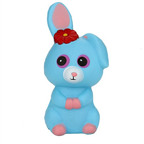 Brave669 Squeeze Cartoon Rabbit Scented Slow Rising Toy Cute Phone Charm Stress Reliever ()