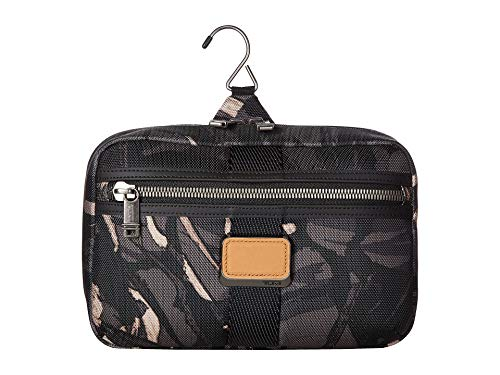 TUMI - Alpha Bravo Reno Travel Kit - Hanging Toilety Bag for Men and Women - Grey Highlands Print