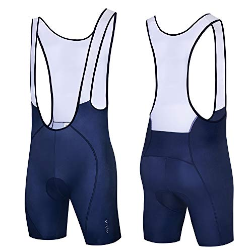 Blue Red Stripe Splicing Cycling Jersey Breathable Cycling Clothing Bib Shorts
