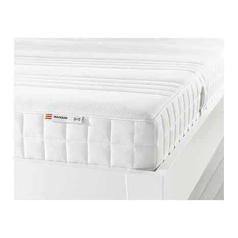 IKEA MATRAND memoria colchón de espuma de blanco; A; (160 x 200 cm): Amazon.es: Hogar