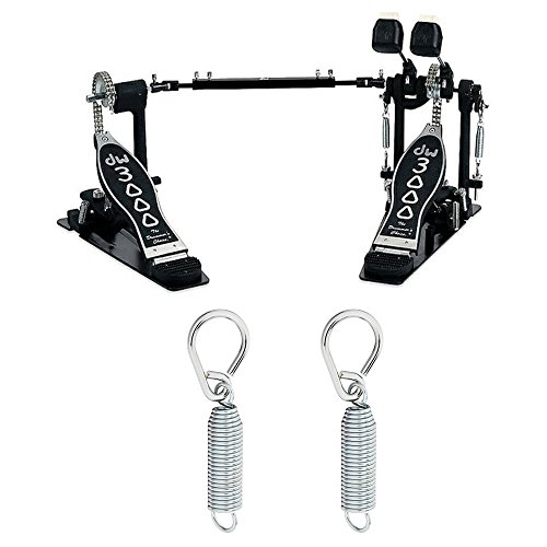 - Drum Workshop DWCP3002 Double Bass Pedal Plus 2 DW Springs with Felt Inserts