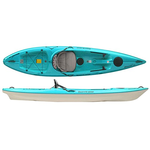 Kayak 116 (Hurricane Skimmer 116 Kayak (AirStream Seat) - Aqua)