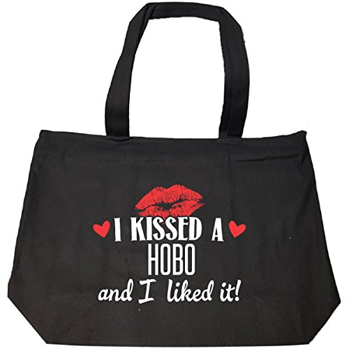 A It Tote Hobo Liked Girlfriend Gift Kissed With Bag Zip Wife I Job wIxTWR6