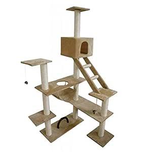 VidaXL Cat Play Tree 184 cm Beige
