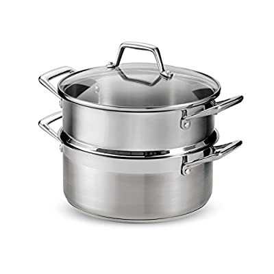 Tramontina 80120/523DS Stainless Steel 5 Quart Steamer Set