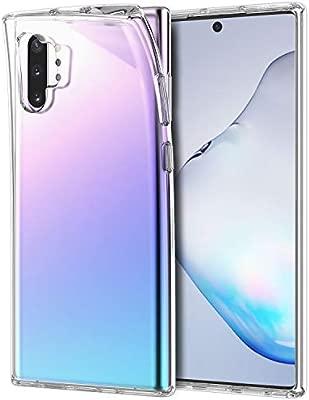 JETech Funda Compatible Galaxy Note 10+ / Galaxy Note 10 Plus 5G, Material de TPU Premium, Prueba de Golpes, Transparente