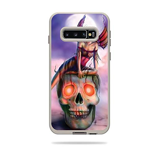Price comparison product image MightySkins Skin Compatible with Lifeproof Fre Case Samsung Galaxy S10+ - Death Pixie / Protective,  Durable,  and Unique Vinyl Decal wrap Cover / Easy to Apply,  Remove / Made in The USA