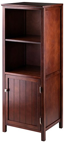 Winsome Wood 94421 Brooke Storage/Organization, Antique Walnut