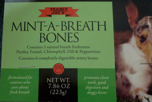 Trader Joes Mint Breath Bones