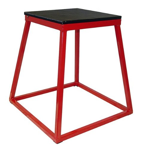 Ader Red Plyometric Platform Box (30'' Red) by Ader Sporting Goods