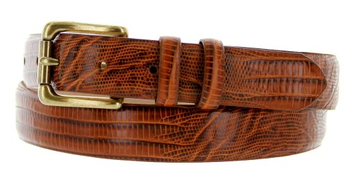 Arthur Men's Genuine Italian Calfskin Leather Dress Belt 30mm 1-1/8