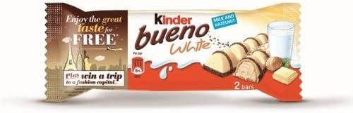 Kinder - Bueno white 12 pack (1.4oz): Amazon.es: Alimentación y ...