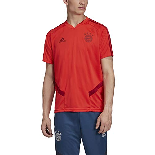adidas Men's Bayern Munich Training Jersey 2019-20 (Large) FCB True Red/Active Maroon
