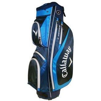 2016 Callaway X Series Cart Trolley Golf Bag 14-Way Divider Navy/Blue by Callaway