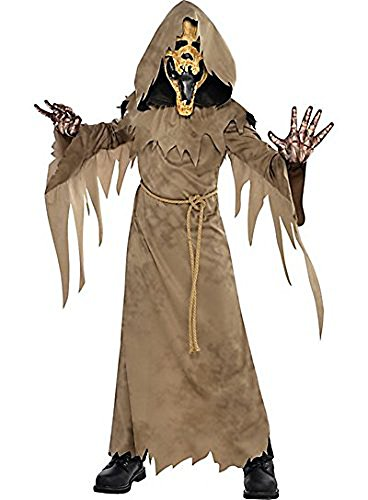 (AMSCAN Swamp Creeper Halloween Costume for Boys, Large, with Included)
