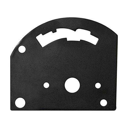 B&M 80710 3-Speed Reverse Pattern Gate Plate for Pro Stick Automatic Shifter ()