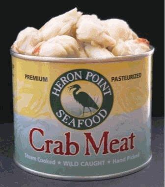 Heron Point Jumbo Lump Crabmeat 1 Lb