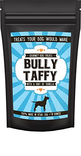 Moo Bully Sticks (Bully Boy Gourmet Beef Bully Taffy Dog Treats - Slow Roasted, Great Vanilla Taste, Made in the USA …)