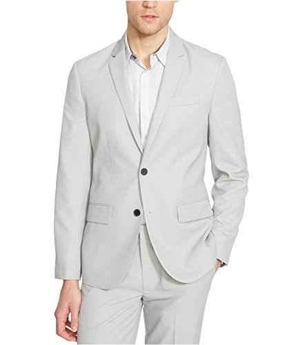 Kenneth Cole REACTION Men's 2 Button Blazer, Pebble Combo, 40/Medium -