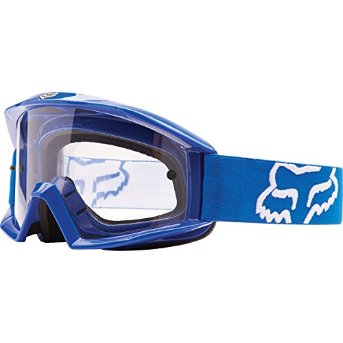 Fox Racing Main GP Adult Off-Road Motorcycle Goggles Eyewear - Blue/Clear/One Size Fits All ()