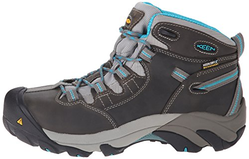 Pictures of KEEN Utility Women's Detroit Mid Steel Black Olive/Madder Brown 5