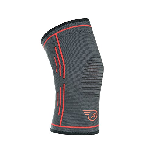 Knee Support Brace – Single Wrap Compression Sleeve Stabilizer for Running, Weightlifting, Soccer, Basketball | Best Arthritis, ACL MCL Meniscus Patella Protector | Men Women Joint Pain Relief – DiZiSports Store