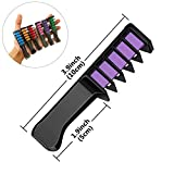New Hair Chalk Comb Temporary Bright Hair Color Dye