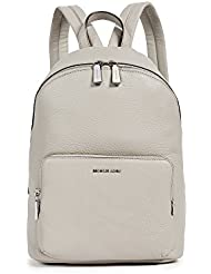 MICHAEL Michael Kors Womens Wythe Large Backpack, Pearl Grey, One Size
