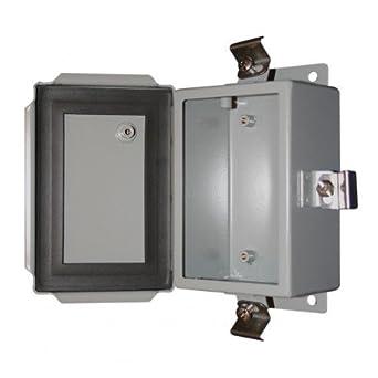 Bud Industries Series Sn Steel Nema 4 Sheet Metal Box With