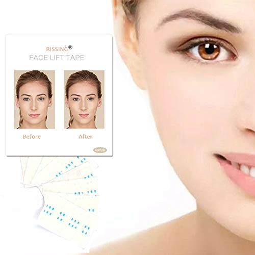 Face Lifting Patch Lift Chin Thin Face Invisible Artifact Sticker Adhesive Tape Make-up Face Lift Tools, Best Gift for Woman (Best Face Lift Tape)